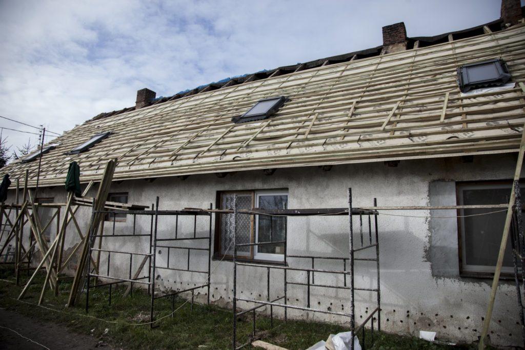 dach wbudowie